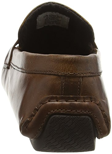 Red Tape Cranfield, Mocassins Homme Brown (Tan Leather)