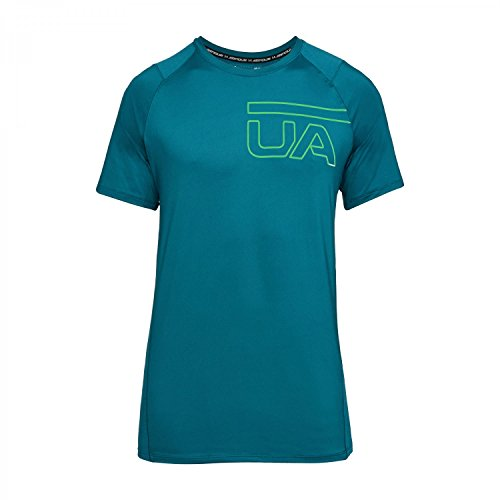 Under Armour Shirt - Uomo TOURMALINE TEAL/ARENA GREEN