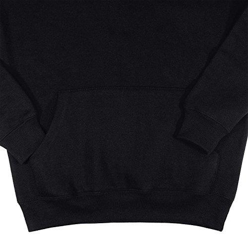 Unisex Felpa con cappuccio / colori nero