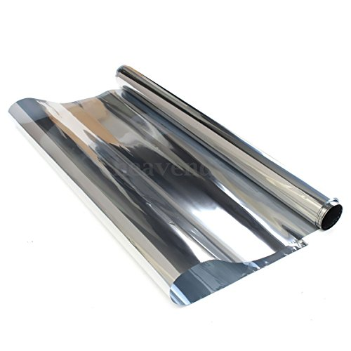 Price comparison product image Generic QY-UK4-16FEB-20-3373 *1**5364** Film One Way rror Si Solar Reflective Window 1Pc Mir 1Pc Mirror Silver lar Ref 3m UK x 3m UK Privacy Tint 50cm x Tint 50cm x 3m UK