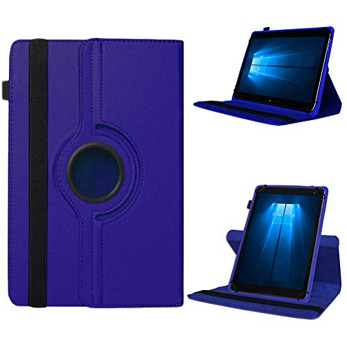 UC-Express Odys Connect 7 Pro Tasche Tablet Hülle Cover Case Schutzhülle 360° Drehbar Etui, Farben:Blau
