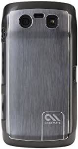 Case-Mate BA CM016726 Barely There Brushed Aluminium Case for Blackberry Touch 9850/9860 (Silver)