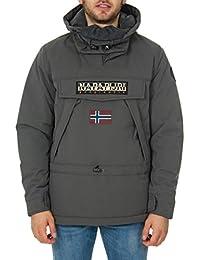 NAPAPIJRI 9983W Piumino Uomo Regular Fit Grey Jacket Men 418b4f902f83
