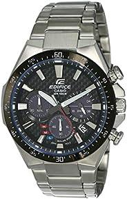 Casio Edifice Analog Black Dial Men's Watch - EQS-800CDB-1AVUDF (EX