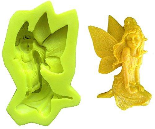 Inception pro infinite stampo in silicone per uso artigianale fata in ginocchio - adatto anche per sapone