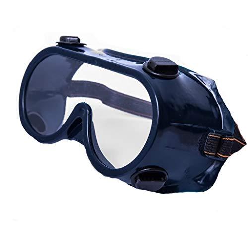 Duhongmei123 Mode Brillen Anti-chemische Brille, schutzbrille, schutzbrille PVC Staub Augenmaske, Occhiali (Color : Blue)