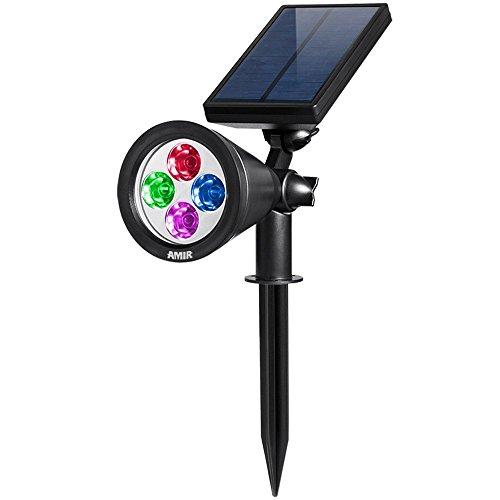 Baum Spot (Jolliwin Gartenleuchten, 200 Lummen Solar Lichter, Auto-on/off Flag Pole Lichter, Wasserdichte Outdoor Spot Licht für Garten, Pool, Baum)
