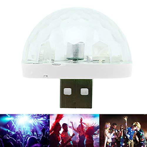 Licht USB LED Sound Aktiviert Mehrzweck Mini Disco Licht Tanzlicht ()