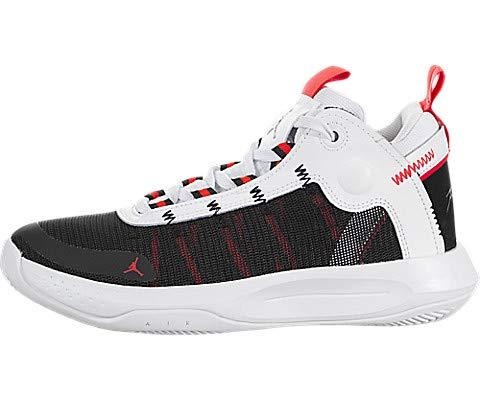 Nike Jordan Jumpman 2020 GS, Niño para Niños, Multicolor White/Metallic Silver/Black/Red Orbit...