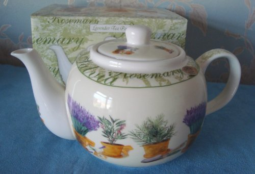 'Lavande Herb Garden Théière'