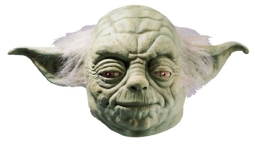 Star Wars Yoda Maske aus Latex - Vollmaske