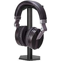 Soporte para auriculares, minkle universal Soporte para auriculares para over Ear Auriculares, de aluminio + TPU + ABS, color negro