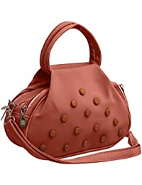 TAP FASHION Fancy Stylish Elegant Women's Cross Body Sling Bag With French Studs.