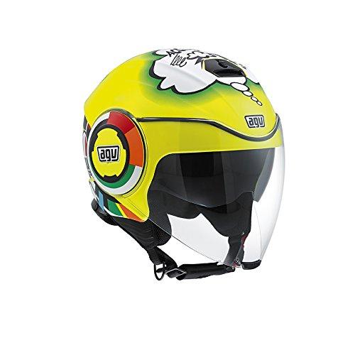 AGV 4811A0G0_002_XL Motorradhelm Fluid E2205 Top Misano 2011