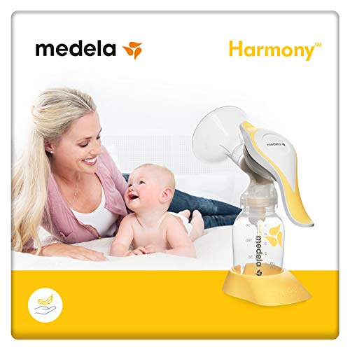 Medela Harmony Manual Breastpump (Yellow)