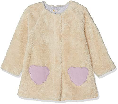 Steiff Baby - Mädchen Jacke , Weiß (CLOUD DANCER 1001) , 104 (Herstellergröße:104)