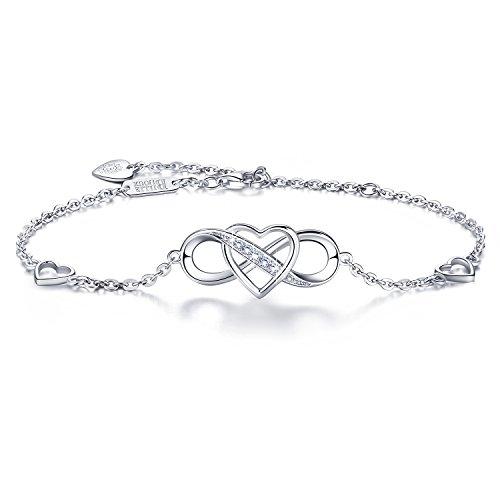 925 Sterling Silber Unendlichkeit Armband - Billie Bijoux