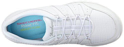 Skechers Damen Breathe-Easy Imagine Sneaker Weiß (Wht)