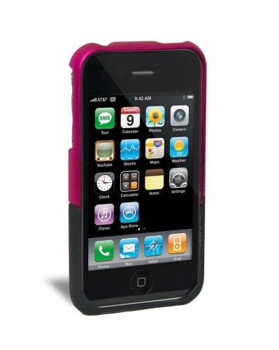 iFrogz Luxe Hartschalenetui für Apple iPhone 3G/3GS pink/schwarz - 3g Luxe Case