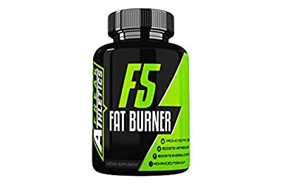 F5 Fat Burner - Elite Level Fat Burner by Freak Athletics - Fat Burners Suitable for Both Men & Women - 90 Capsules - Made in The UK High Quality Guaranteed - Includes Free Workout Program by Freak Athletics