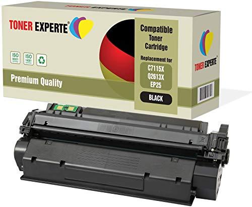 TONER EXPERTE® Premium Toner kompatibel zu C7115X Q2613X EP-25 für HP Laserjet 1000, 1005, 1200, 1220, 1300, 3080, 3300, 3310, 3320, 3330, 3380, Canon LBP1210 (Hp Laserjet 3330)