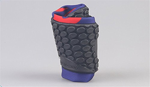 Moolecole Unisexe Extérieur Barefoot Eau Sports Aqua Chaussures Aqua Chaussettes pour Beach Natation Surf Peau Fitness Yoga Chaussures Noir&Flamme