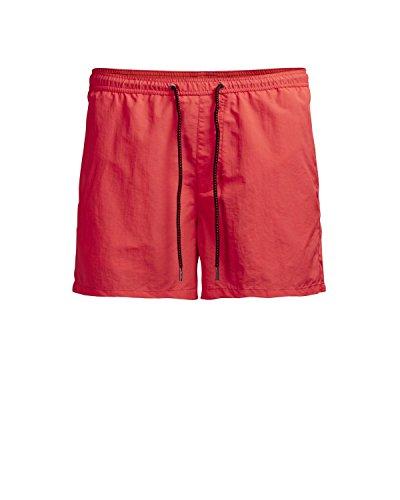 JACK & JONES Herren Badeshorts Jjisunset Swim Shorts Ww Sts Rot (Racing Red Racing Red)