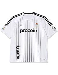 adidas Fort14 Jsy P Camiseta Real Oviedo 3ª equipación Hombre, ...
