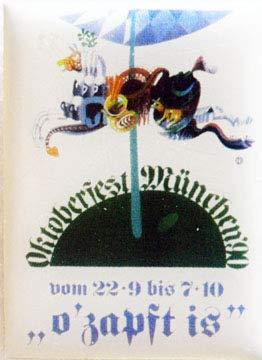 Beste Auswahl Oktoberfest Plakatmotiv 1990