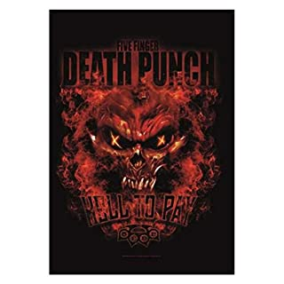 armardi Five Finger Death Punch Poster Fahne Hell
