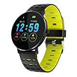 MObast Armbanduhren Smartwatches L6 1,22 Zoll Farbe Voll Touchscreen IP68 Wasserdichte Pulsuhr Smart Watch
