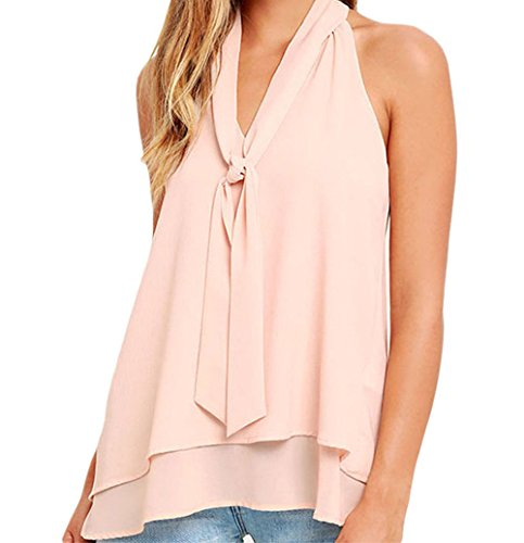 bling-bling-double-cascading-ruffle-neck-tie-sleeveless-toppinkxl