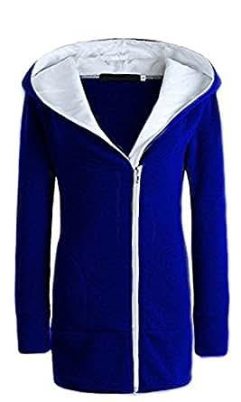 Juicy Trendz Spaceiz Double Zip Designer Women's Ladies Hoodies Sweatshirt Top Sweater Hoodie Jacket Coat
