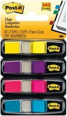Post-it Haftmarker 7000052572 4 Block/Pack. Gelb, Lila, Pink, Türkis