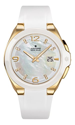 Junghans Spektrum Mega Solar Women's Watch 015/1506.00