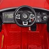 Kinderfahrzeuge Kinderauto Elektroauto VW Golf GTI 7 rot 12 V Mit Fernbedienung Elektrofahrzeuge