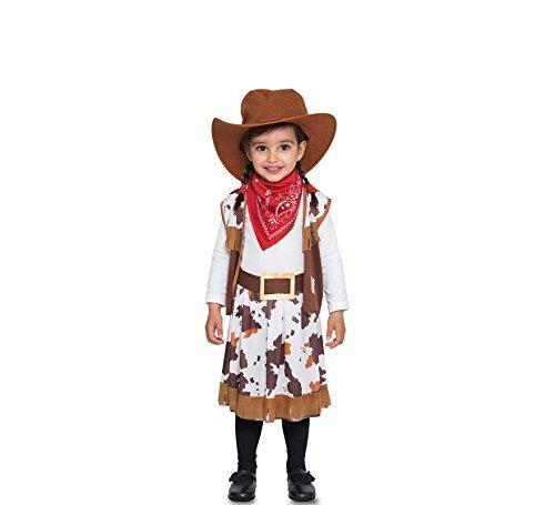Fyasa 706373-t00Cowgirl Kostüm, Klein