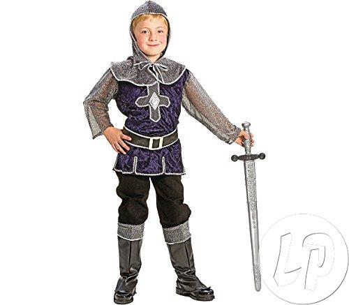 Kostüm Ritter Lancelot für Kinder in blau Gr. 116