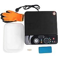 Máquina de prensa de calor, Impresora de transferencia de calor de 400 + 400W, Caja de teléfono 100~230V(US standard 110V)