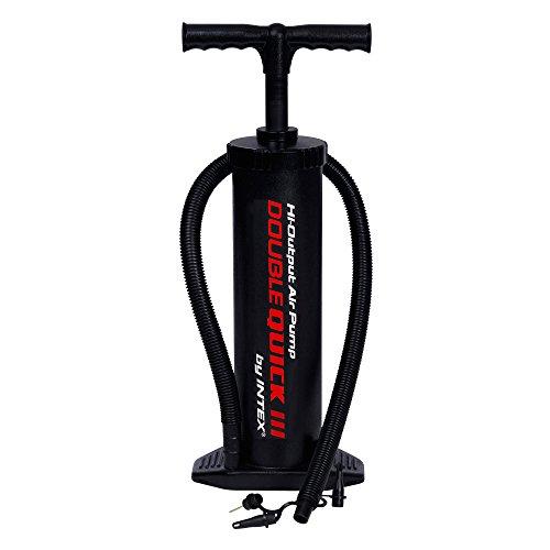 Preisvergleich Produktbild Intex Luftpumpe Hochleistungshandpumpe, Schwarz, 48 cm