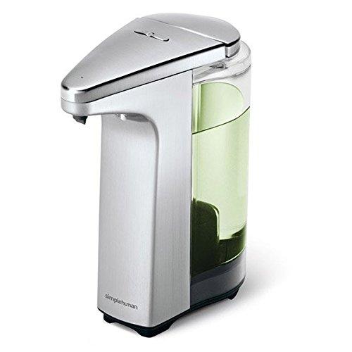 Simplehuman���Dispenser per sapone liquido con sensore 237�ml in nichel opaco