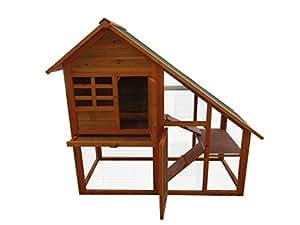 hasenstall kaninchenstall nagerhaus meerschweinchen haus f r au enbereich f r kleintiere hasen. Black Bedroom Furniture Sets. Home Design Ideas