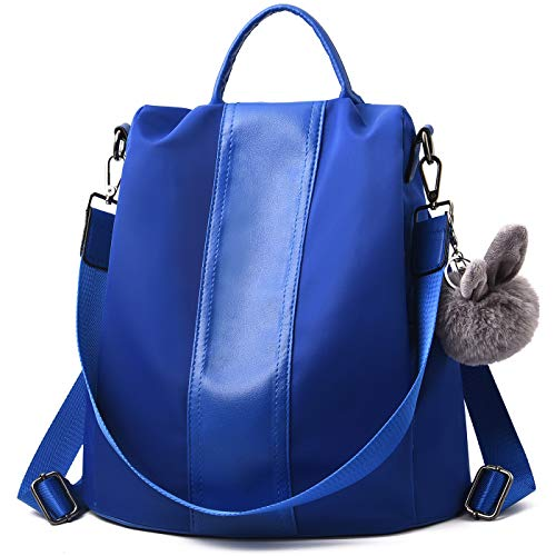 8a0a642fb71d Charmore Women Backpack Ladies Rucksack Waterproof Nylon School bags Anti- theft Dayback Shoulder Bags