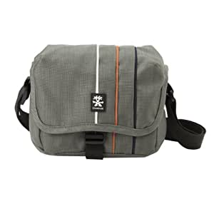 Crumpler Jackpack 1500 DSLR Foto Umhängetasche 1500 Gris Souris/ Orange