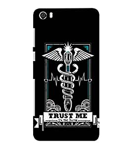 EPICCASE Trust the doc Mobile Back Case Cover For Huawei Honor 6 Plus (Designer Case)