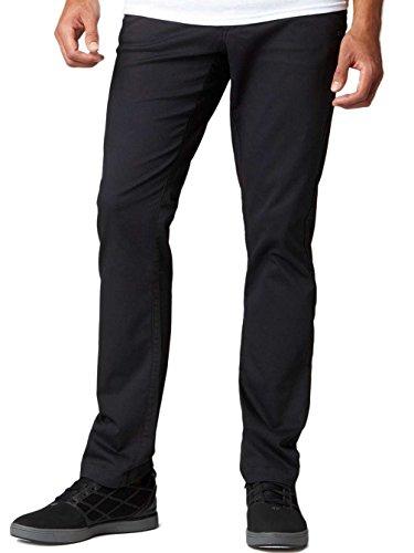 Pantalon Fox Selecter Chino Noir Schwarz