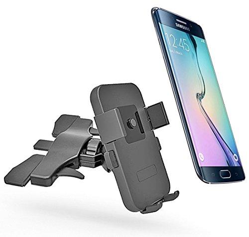 JoysoulEU einfache One-Touch-Mini-CD-Schlitz-KFZ-Halterung für iPhone 77Plus/6S Plus/6S/6, Samsung Galaxy S8Edge S7S6Note 5, Nexus 6, und Smartphones (Bmw Navigation Cd)