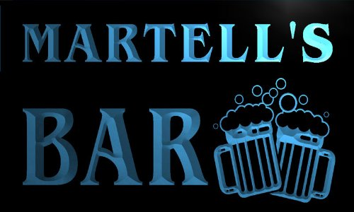 w003424-b-martells-nom-accueil-bar-pub-beer-mugs-cheers-neon-sign-biere-enseigne-lumineuse
