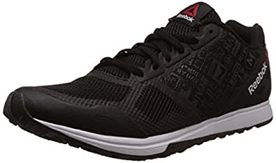 Reebok Men's Crosstrain Sprint 2.0 Black and White Multisport Training Shoes - 7 UK/India (40.5 EU) (8 US)