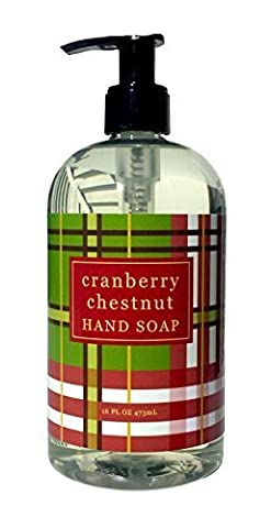Greenwich Bay Cranberry Chestnut Liquid Hand Soap Enriched with Shea Butter and Cranberry Oil 16 oz by Greenwich Bay Trading Company